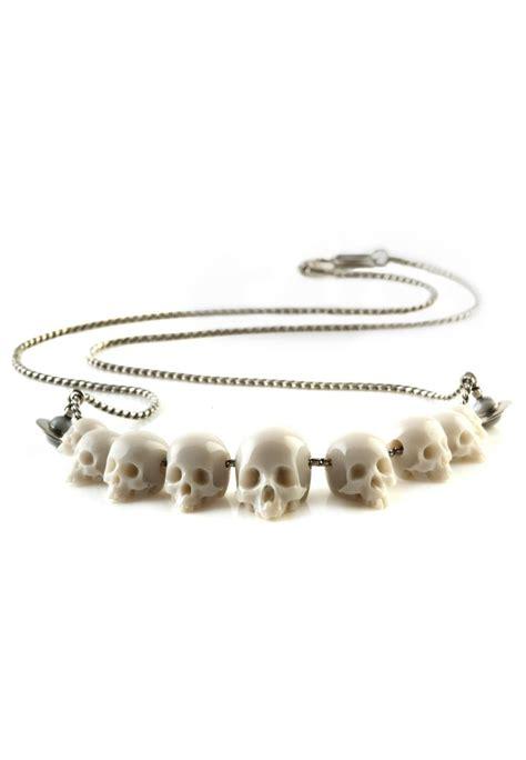vivienne westwood skull necklace j adore