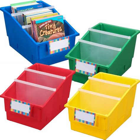 picture book bins chapter book library bins with dividers primary