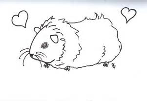 guinea pig coloring pages free coloring pages of guinea pig