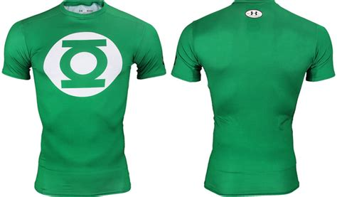 armour alter ego green lantern compression shirt