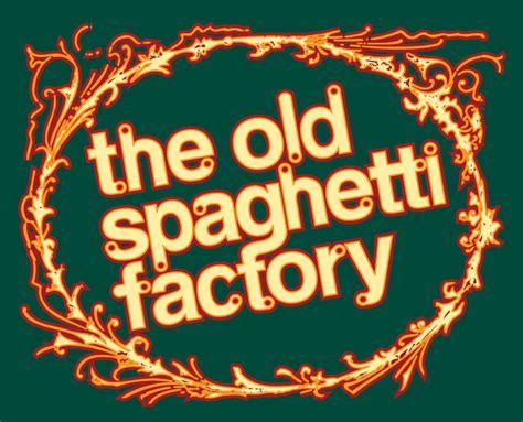 The Old Spaghetti Factory Gluten Free Menu
