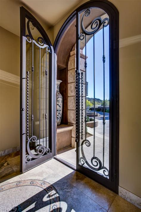 Glass And Iron Doors Photo Page Hgtv