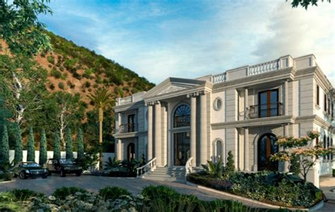 Floor Plans For Luxury Homes 25 million newly listed mansion in bel air ca with floor