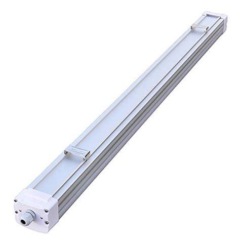 ledwholesalers deluxe 4 ft tri proof aluminum led utility