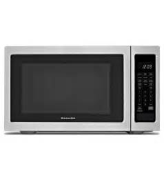 kcms1655bss kitchenaid counter top microwave