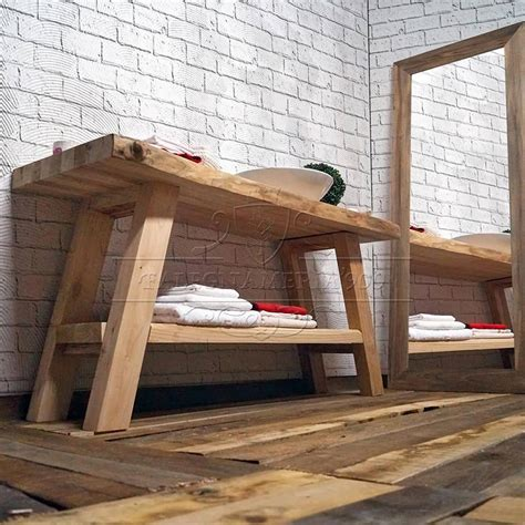 mobile bagno legno legno massello mobile bagno in legno massello con doppio