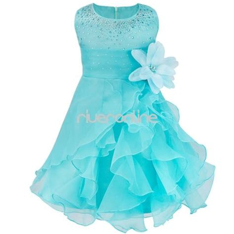 Baby Dress by Flower Princess Bow Dress Toddler Baby Wedding
