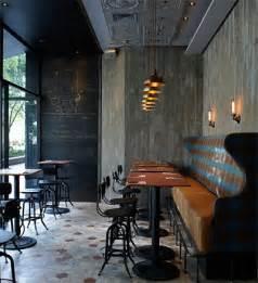 rustic pizzeria bar in shanghai commercial interior