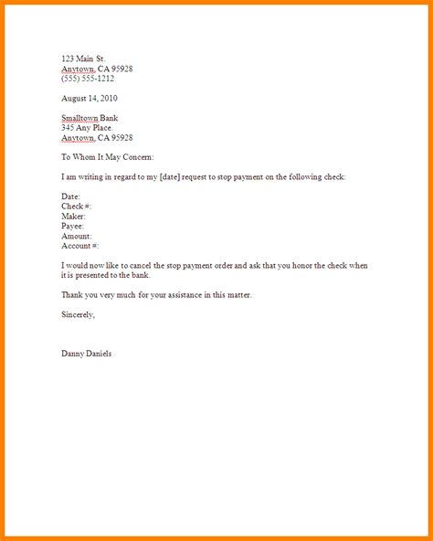 salary account cancellation letter plot cancellation letter format in 28 images 20 new