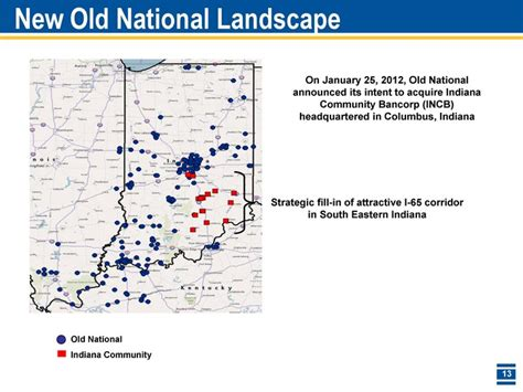 Section 1291 Fund by New National Landscape National Indiana Community Strategic Fill In Of Attractive I 65