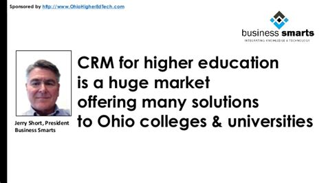 crm for higher education technosoft 3 best crm solutions for higher education in ohio slideshare