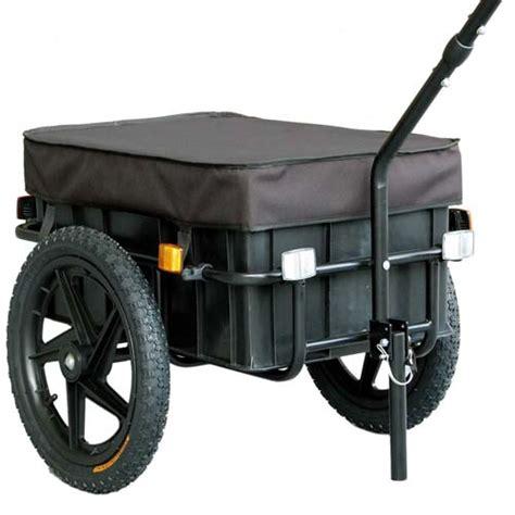 bike cargo trailer luggage shopping bicycle trailer