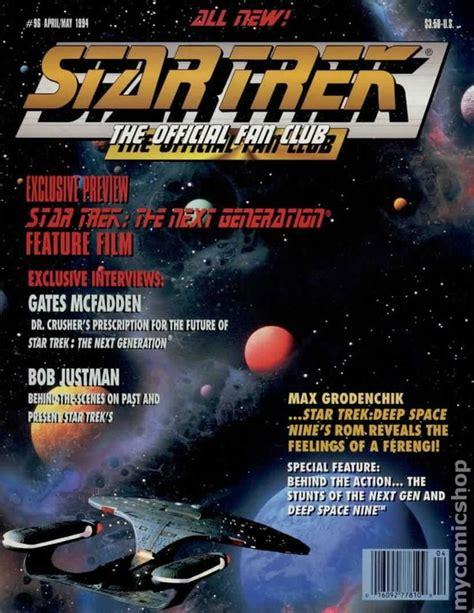 star trek fan club star trek the official fan club magazine 96 fn