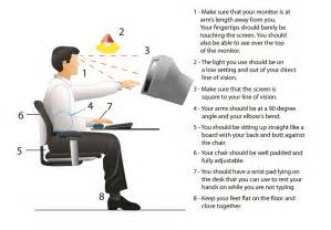 ergonmic setup for your workstation bell plaza chiropractic