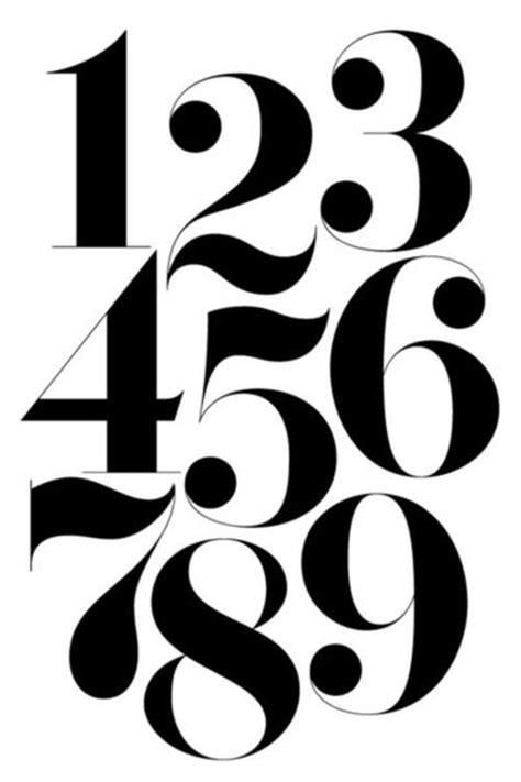 typography numbers numbers typography graphic designs juxtapost