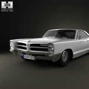 Pontiac 2 Door Models Pontiac Bonneville Hardtop 2 Door 1966 3d Model Humster3d