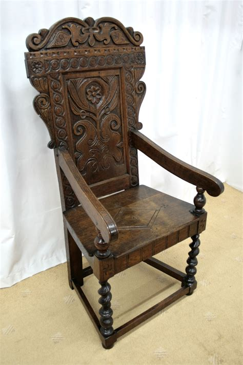 vintage armchair for sale 19th century oak wainscot style chairs for sale antiques