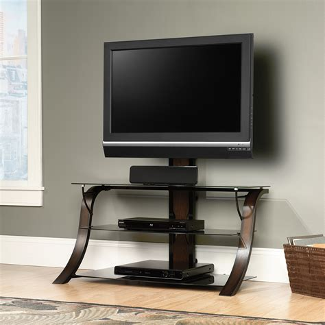 tv stands sauder select veer tv stand with mount 413906 sauder