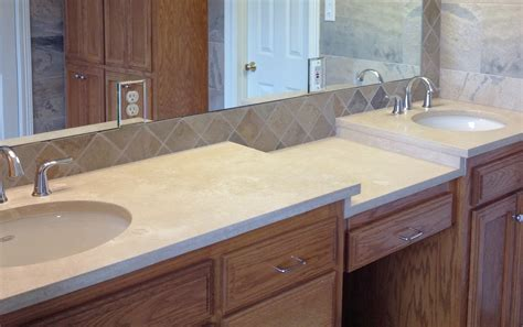travertine bathroom countertops travertine countertops as the other option for your