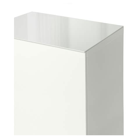 Besta 60x40 by Best 197 Top Panel Glass White 60x40 Cm Ikea