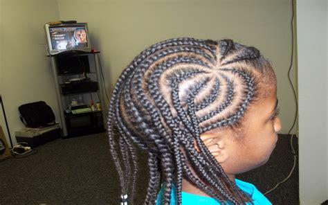 two rows corn row braid corn rows hair braiding salon charlotte senegalese