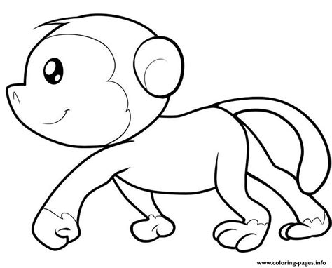 printable images com monkey printable with spider monkey coloring pages printable