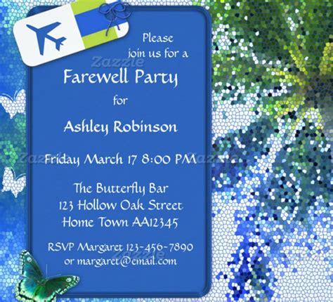 goodbye party invitation gangcraft net