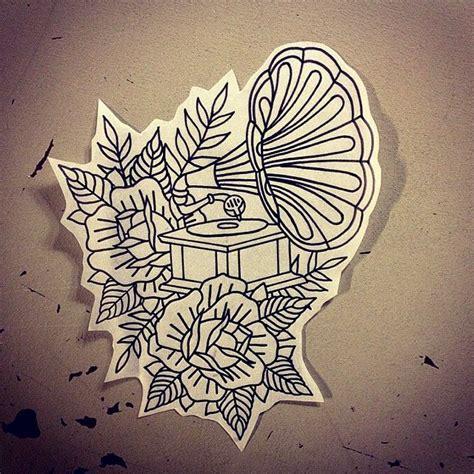 phonograph tattoo best 25 gramophone ideas on