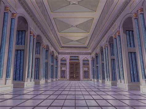 Mansion Interior castle anime background