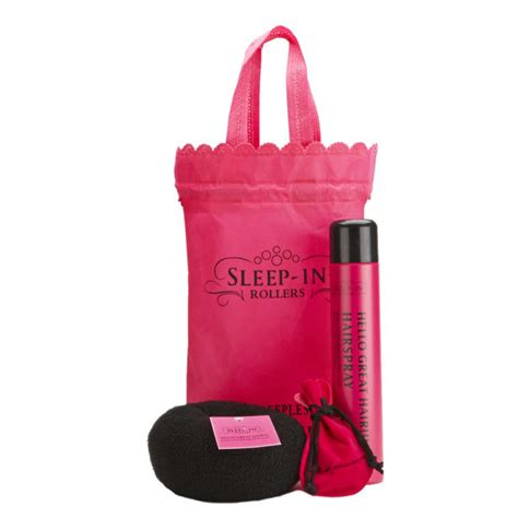 sleep accessories sleep in rollers black accessories bun ring hairspray
