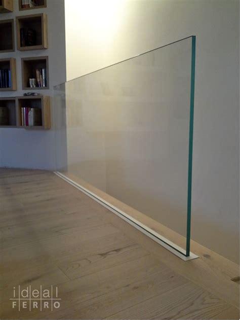 ringhiera in vetro prezzi parapetto in vetro con supporto a scomparsa idealferro
