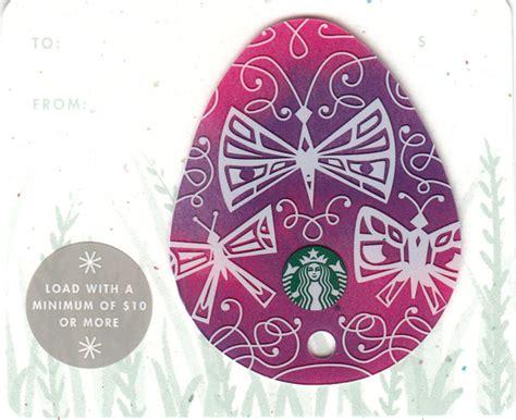Starbucks Card Usa Easter Eggs 2016 Diecut Set buckscards store