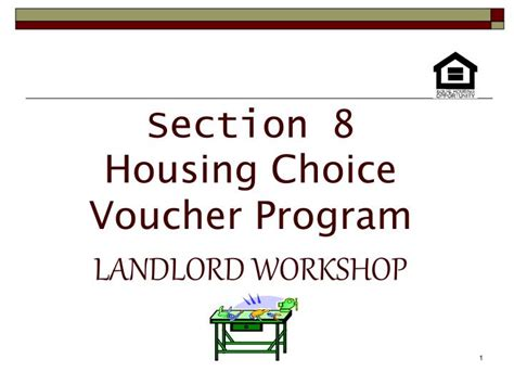 section 8 housing choice voucher ppt section 8 housing choice voucher program landlord
