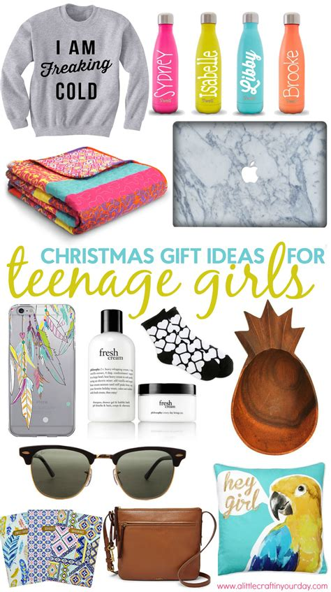 christmas gift ideas for teen girls a little craft in