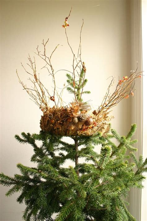 gilded forest golden christmas crown tree topper trees