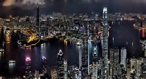 City Lights Phoenix Night Hong Kong Watch Free Widescreen Photography Of