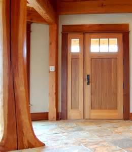 Cedar Door Crafted Of Western Cedar This Entry Door Is 3 Quot Thick