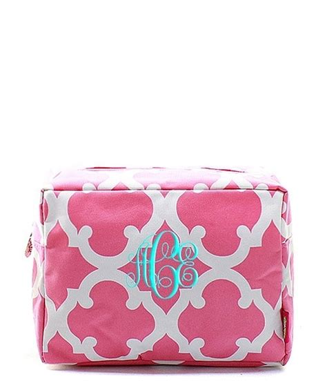 personalized  cosmetic bag makeup case pouch tote
