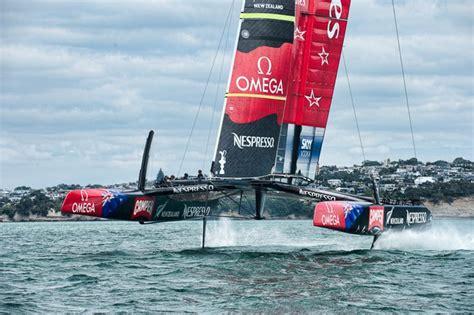 emirates team new zealand ac 72 dimension yacht engineering - America S Cup Catamaran Dimensions