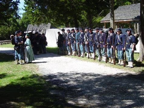 civil war reenactment cold spring village cape