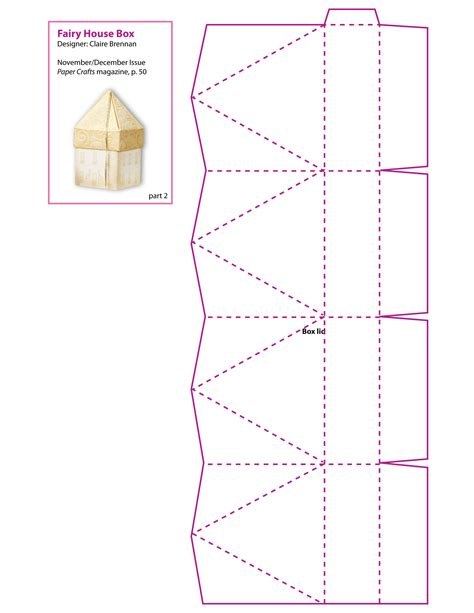 pattern box paper boxes patterns 171 free patterns