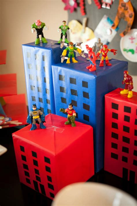 home construction and decoration superhero party the mccord alliance a growing family