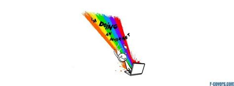 Internet Rainbow Meme - internet rainbow meme facebook cover timeline photo banner