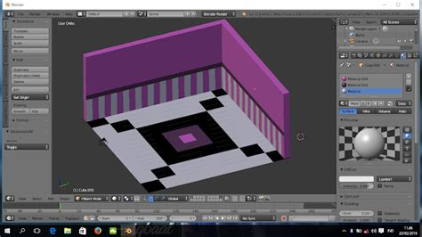 tutorial blender membuat tempat tidur alma fajrini tutorial membuat ruang kamar 3d dengan