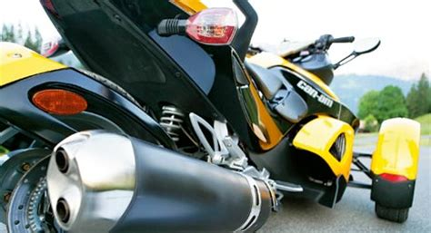 Dreirad Motorrad Can Am by Dreirad Can Am Spyder Tourenfahrer Online