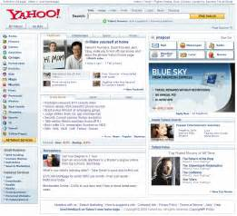 home page yet another yahoo home page redesign 187 uie brain sparks