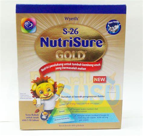 Nutrilon S26 s26 nutrisure 400g pabrik detil toko