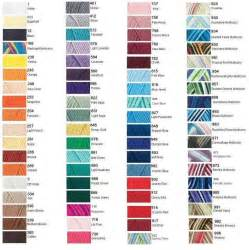 with yarn color chart yarn