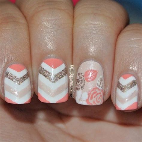 Easy Fingernail by Polishmewithglitter Accent Nails Gel Nail Designs