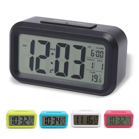 digital lcd screen mini desktop table projector alarm